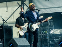 Booker T Jones - Breedtefestival 2014 Royalty-vrije Stock Afbeelding