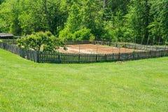 Booker T Washington National Monument - grönsakträdgård Royaltyfri Fotografi