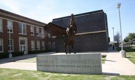 Booker T Washington School, Dallas, Texas imagem de stock royalty free