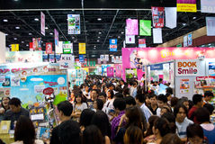 BookExpo Thailand 2011. 9-16 october 2011 Stock Image