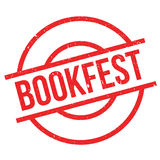 Bookfest rubber stamp Stock Photos