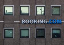 Booking.com ' s办公室在阿姆斯特丹 库存照片