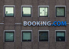 Booking.com ' s Biura w Amsterdam Zdjęcie Stock