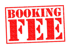 BOOKING FEE Royalty Free Stock Photography