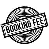 Booking Fee rubber stamp Royalty Free Stock Photography