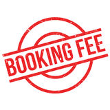 Booking Fee rubber stamp Stock Photography