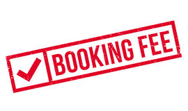Booking Fee rubber stamp Royalty Free Stock Photo