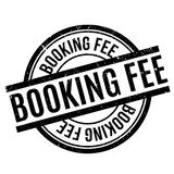 Booking Fee rubber stamp Stock Image
