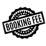 Booking Fee rubber stamp Stock Photos
