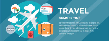 Booking Hotel. Travel infographic. Loupe, Building Stock Images