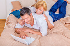 Booking online reservation. Booking nice place to stay a night royalty free stock photo