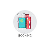 Booking Ticket Online Reservation Icon Stock Photography