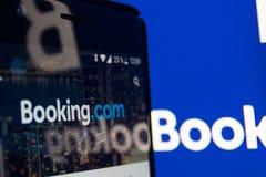 bookishly com-applikation arkivfoton