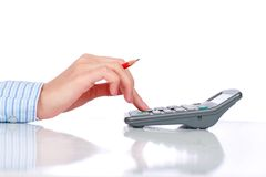 Bookkeeper. Stock Images