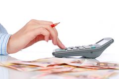 Bookkeeper. Stock Image
