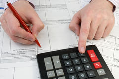 Bookkeeper Royalty Free Stock Photo
