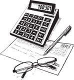 Bookkeeper иллюстрация штока