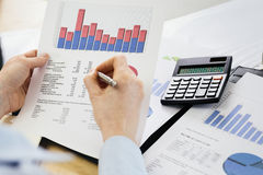 Bookkeeping and Finances Stock Photo