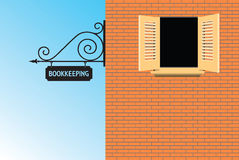 Bookkeeping office Stock Photo