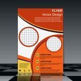 Booklet design vector template Royalty Free Stock Photos