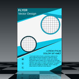 Booklet design vector template Royalty Free Stock Photography