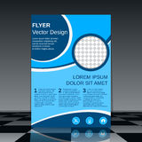 Booklet design vector template Royalty Free Stock Image