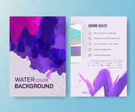 Booklet, magazine poster, flyer, abstract banner Royalty Free Stock Images