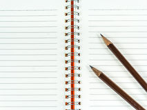 Booklet Pencil Royalty Free Stock Photos
