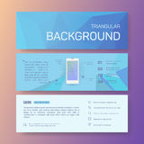 Booklet, rectangle, magazine poster, flyer Royalty Free Stock Images