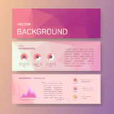Booklet, rectangle, magazine poster, flyer Stock Image