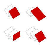 Booklets. Set of booklets,  icon set Royalty Free Stock Image