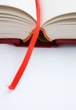 Bookmark. A bookmark in a book helps to find the correct page Stock Photo