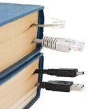Bookmark in the book Stock Images