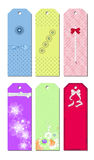 Bookmark Designs. Cute and lovely creative bookmark designs Stock Photos