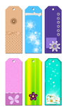 Bookmark Designs Royalty Free Stock Image