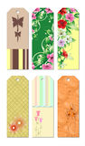 Bookmark Designs. Cute and lovely creative bookmark designs Stock Image