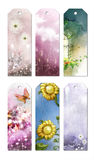 Bookmark Designs. Cute and lovely creative bookmark designs Royalty Free Stock Image