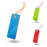 Bookmark icon. Set of  vector bookmark icons Stock Photography