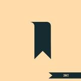 Bookmark icon. Stock  illustration flat design Royalty Free Stock Image