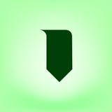 Bookmark icon. Stock  illustration flat design Royalty Free Stock Images