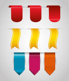 Bookmark icons Royalty Free Stock Photography