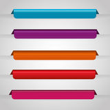 Bookmark icons. Graphic design, vector illustration eps10 stock illustration