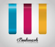 Bookmark icons Royalty Free Stock Images