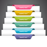 Bookmark Labels Stock Photography