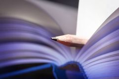 Bookmark - Lesezeichen Stock Photo