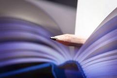 Bookmark - Lesezeichen Stockfoto