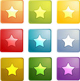 Bookmark navigation icon Stock Photography