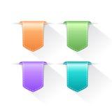 Bookmark ribbon tag Stock Image