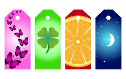 Bookmark set Royalty Free Stock Image