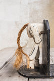 Bookmark the wooden horse Royalty Free Stock Photos